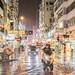 Rainy Night at Mong Kok, Hong Kong