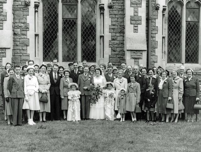 65 years ago... 22 May 1954: Mum & Dad's Wedding