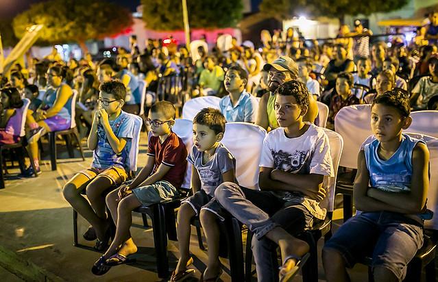 Projeto Cinesolar leva cinema gratuito e movido à energia solar às pequenas cidades do interior brasileiro - Créditos: Foto: Danilo Ramos