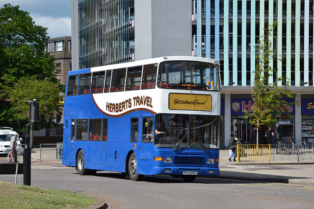 Herberts Travel Volvo Olympian P423 KSX, Bedford, 21st May 2019