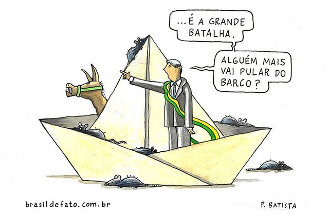 O desembarque do governo Bolsonaro - Créditos: Paulo Batista