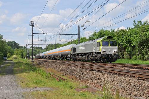 Captrain/Railtraxx 266 009 PB05 6609 Bassenge 23.05.2019