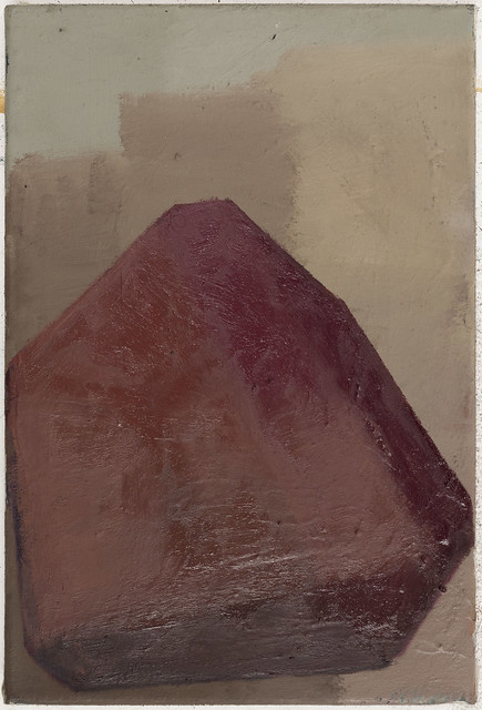 Jewel (Rubeutite), 36x24cm, Eitempera-Öl/Pigmente, 2019