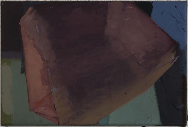 Jewel (Magnoxyt), 24x36cm, Eitempera-Öl/Pigmente, 2019