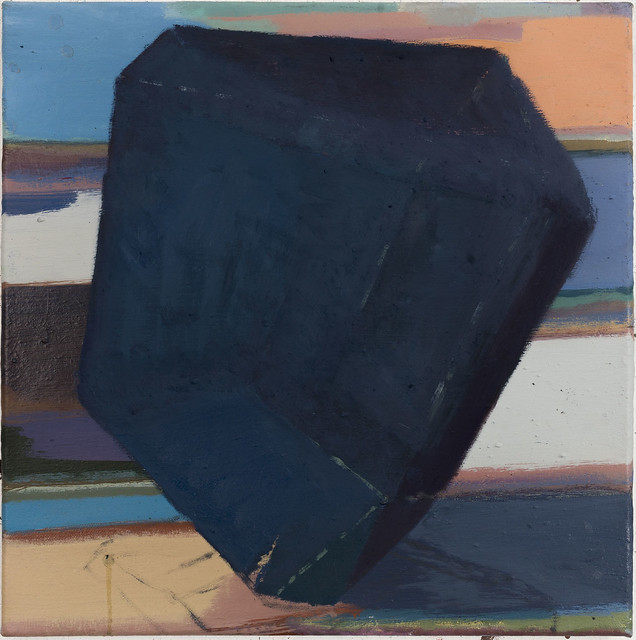Jewel (Kiesox), 40x40 cm, Eitempera-Öl/Pigmente, 2019
