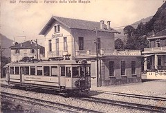 Trains du Val-Maggia (ligne disparue) Suisse