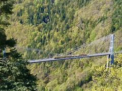 Le train jaune, Pont Gisclard (1909)