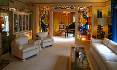 Elvis Presley's Living Room at Graceland - Memphis, Tennessee