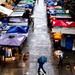 Street, Market, Rain