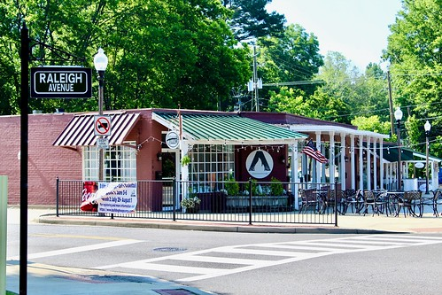 Corner of Oak Grove & Raleigh, Homewood, Alabama
