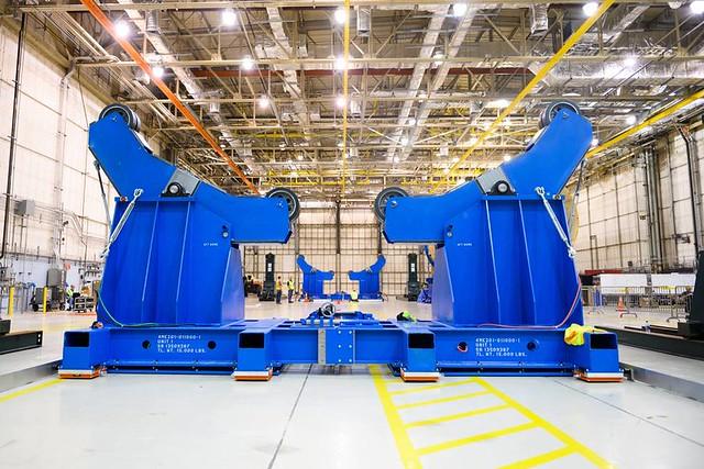 Photo:Michigan Company Helps Build NASA Moon Rocket, Accelerate Moon Missions By NASA's Marshall Space Flight Center