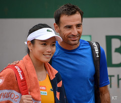 Mixed doubles partners