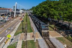 NS 9234 | GE C44-9W | NS Memphis District West End