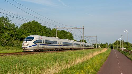 Zevenaar ICE 4601 Europe-Europa ICE 122 Amsterdam