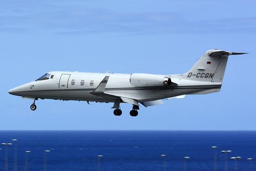 D-CCGN Lj55 cn 55-017 Quick Air Jet Charter 160528 La Palma 1002