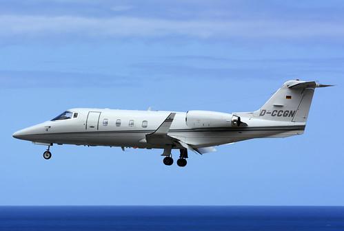 D-CCGN Lj55 cn 55-017 Quick Air Jet Charter 160528 La Palma 1001
