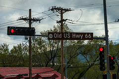 Route 66 in Albuquerque, New Mexico