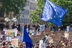 Rekordbeteiligung an der letzten Fridays for Future Demo vor der Europawahl