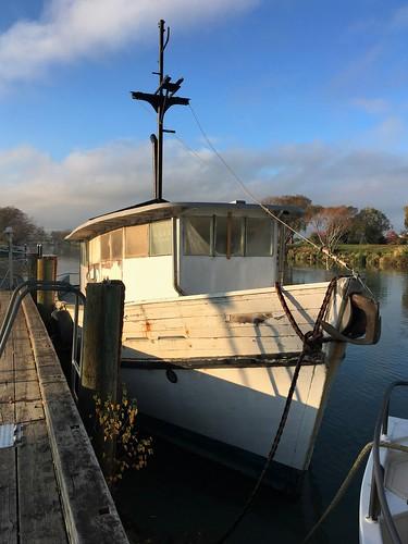 old tug boat