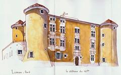 chateau de Lussan