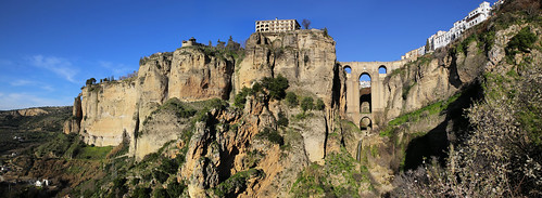 Ronda known as 'The Eagles Nest' was a perfectly chosen location for the Romans