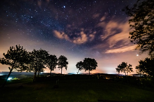 Sternenhimmel über Steffeln