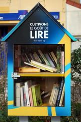 Montceau-les-Mines (71) : boîte à livres