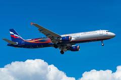 VP-BTL Airbus A321-211 A321 c/n 5881 > AFL
