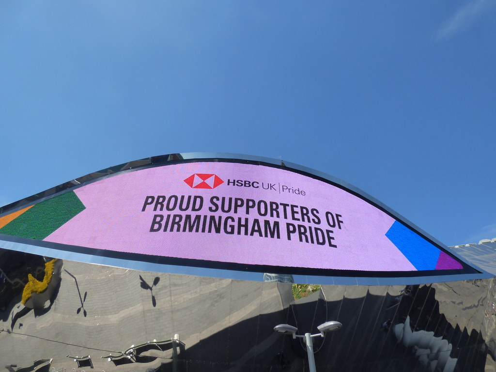 Birmingham Pride 2019 - Birmingham New Street Station - HSBC