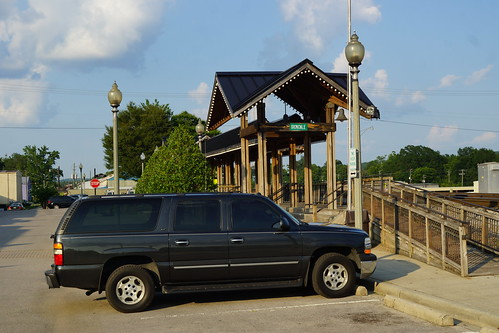 ATL-BHAM-MOBILE TRIP 7-2017 DAY 3. 2005 CHEVY SUBURBAN AT IRONDALE, AL