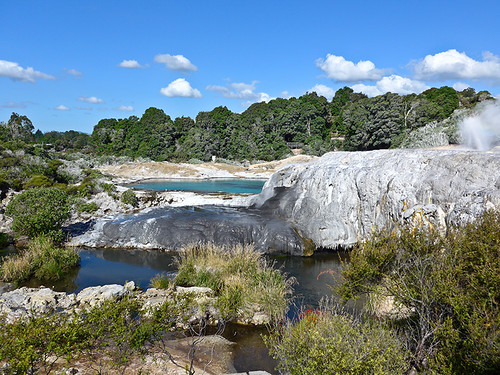 photo - Geyser Terrace, Te Puia Thermal Reserve