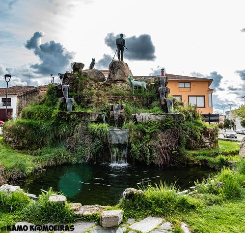 homenaje al cabrero, aldeadavila