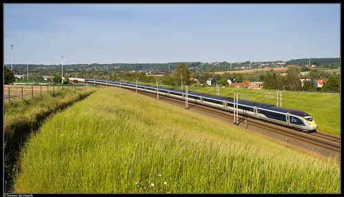 Eurostar 4010/4009 @ Tubize