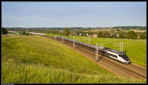 SNCF TGV 4519 @ Tubize