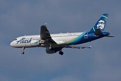 N626VA A.320 Alaska Airlines