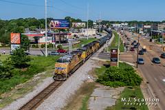 UP 7906 | GE ES44AC | NS Memphis District West End