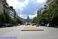 Praça São Venceslau e Museu Nacional