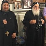 الراهب القمص شنودة الأنبا بيشوي مع الأنبا موسى أسقف الشباب