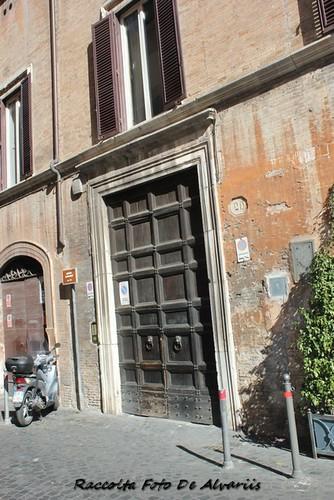 2018 Palazzo Corsetti Podocatari Via Monserrato 20, facciata a