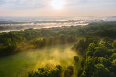 Parc de Noisiel Crepuscular Rays - Photo of Croissy-Beaubourg