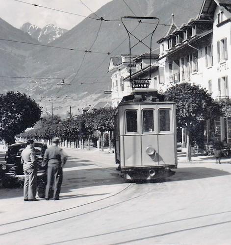 Trams de Martigny (Suisse)
