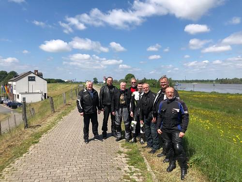 """2019-05-25 Motorradtreff """"Deiche am Niederrhein"""""""