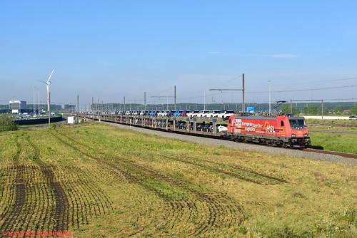 HSL 186 382-8 @ Zeebrugge