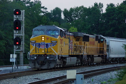 UNION PACIFIC GE AC4400CW #7007 ON NS TRAIN 314? AT IRONDALE, AL