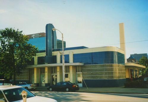 Columbia - South Carolina - Former Greyhound Bus  Station  - Architecture