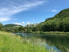La rivière le Doubs (France) / der Fluss Doubs (Frankreich) / река Ду (Франция)