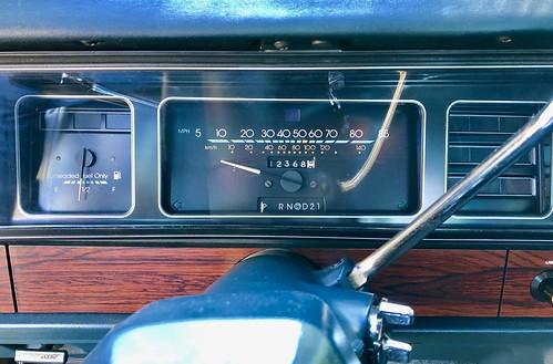 1987 Chevrolet Caprice Classic interior