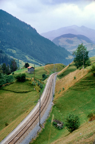 Rails Across The Oberlap Pass
