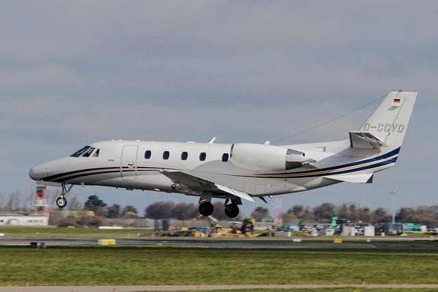 D-CCVD | Atlas Air Service | Cessna 560XL Citation XLS | CN 560-5784 | Built 2008 | DUB/EIDW 02/04/2019