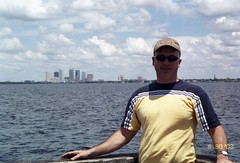 Jerry on Ballast Pointe Pier, Tampa FL.
